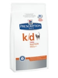 HILL'S Prescription Diet™ k/d™ Feline Original / Сухой корм для кошек при заболеваниях почек / 1,5 кг
