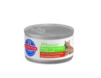 Hill's Canned МУСС для котят (Kitten 1st Nutrition Mousse) / 85 г
