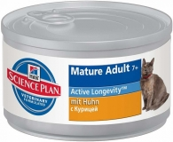Hill`s Feline Mature Adult 7+ / Консервы для пожилых кошек / 82 г