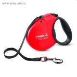 Рулетка Triol Standard Soft Red, лента, S, 5 м до 12 кг