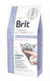 Brit VD Gastrointestinal Cat ВЕТЕРИНАРНАЯ ДИЕТА ДЛЯ КОШЕК С НАРУШЕНИЯМИ ЖКТ / 0,4 кг
