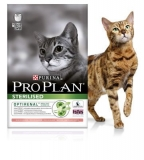 PRO PLAN STERILISED CAT С ЛОСОСЕМ  / 3 кг