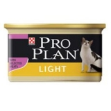 PRO PLAN LIGHT CAT / ПАШТЕТ ИЗ ИНДЕЙКИ / 85 г